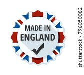 made in england label... | Shutterstock .eps vector #796050082