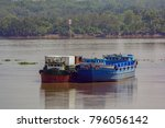 self propelled barges are used... | Shutterstock . vector #796056142