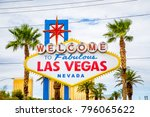 classic view of welcome to... | Shutterstock . vector #796065622