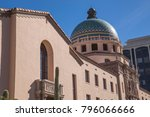 pima county courthouse tucson...   Shutterstock . vector #796066666