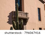 cactus in front of pima county...   Shutterstock . vector #796067416