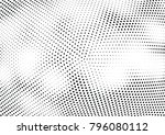 abstract halftone wave dotted... | Shutterstock .eps vector #796080112