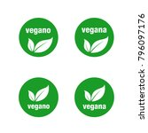 icon for vegan food spanish... | Shutterstock .eps vector #796097176