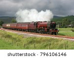 lms pacific steam locomotive no.... | Shutterstock . vector #796106146
