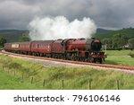 Lms Pacific Steam Locomotive N...