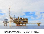 offshore oil and gas central... | Shutterstock . vector #796112062