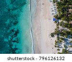 sea aerial view  top view ... | Shutterstock . vector #796126132