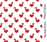 love  dot pattern | Shutterstock .eps vector #796197856