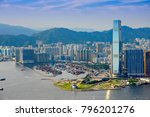 Panorama Of Kowloon Peninsula...
