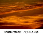 beautiful cloudy sunrise sky... | Shutterstock . vector #796215355
