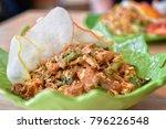 indonesian vegetables salad... | Shutterstock . vector #796226548