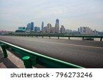 empty road surface floor with... | Shutterstock . vector #796273246