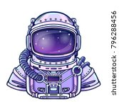 Animation Astronaut In A Space...