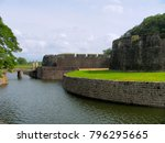 Tipu Sultan Fort wall, Palakkad, Kerala, India