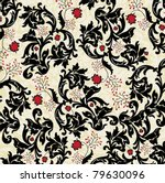 floral seamless pattern | Shutterstock .eps vector #79630096