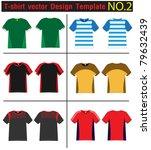 t shirt design lined vector... | Shutterstock .eps vector #79632439