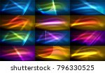 set of hi tech futuristic... | Shutterstock .eps vector #796330525