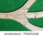 childrens toy  wooden train...   Shutterstock . vector #796331368