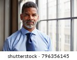 middle aged black businessman... | Shutterstock . vector #796356145