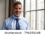 middle aged black businessman... | Shutterstock . vector #796356148