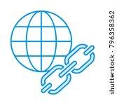 browser link url | Shutterstock .eps vector #796358362