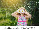 happy toothless child with...   Shutterstock . vector #796365952