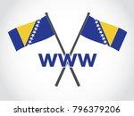 bosnia emblem world wide web | Shutterstock .eps vector #796379206