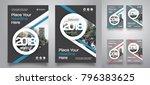 city background business book...   Shutterstock .eps vector #796383625