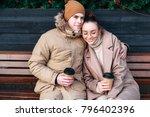 pretty fashion sensual stylish... | Shutterstock . vector #796402396