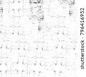 abstract grunge grey dark... | Shutterstock . vector #796416952