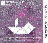 tangram ship | Shutterstock .eps vector #79642414