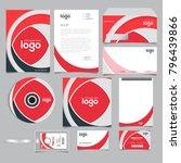 corporate identity branding... | Shutterstock .eps vector #796439866