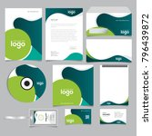 corporate identity branding... | Shutterstock .eps vector #796439872