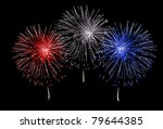 Red White And Blue Fireworks O...