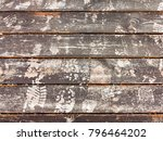 authentic background of wooden... | Shutterstock . vector #796464202