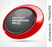 abstract glossy speech bubble... | Shutterstock .eps vector #79646458