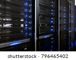 web network  internet... | Shutterstock . vector #796465402