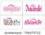 creative lettering design for... | Shutterstock . vector #796473712