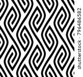 vector seamless texture. modern ... | Shutterstock .eps vector #796486582