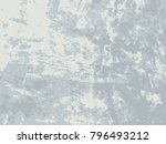 abstract distress floor  white... | Shutterstock .eps vector #796493212