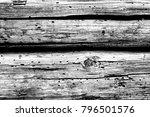 old plank wooden wall... | Shutterstock . vector #796501576