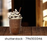 frappuccino in takeaway or to... | Shutterstock . vector #796503346