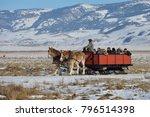 Jackson  Wyoming  Usa  January...