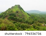 hilly rural landscape view from ... | Shutterstock . vector #796536736