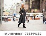 young beautiful blonde woman in ...   Shutterstock . vector #796544182