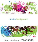 abstract colorful vector... | Shutterstock .eps vector #79655380