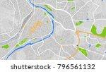 map city france | Shutterstock .eps vector #796561132