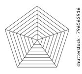 radar chart icon on white...   Shutterstock .eps vector #796563916