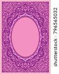 floral ornament background | Shutterstock .eps vector #796565032