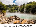 the hot spring at beitou...   Shutterstock . vector #796565875